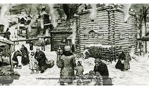 Русская баня - русский экстрим