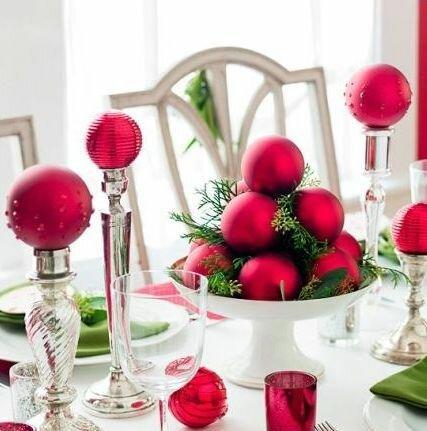 Простые идеи для новогоднего стола