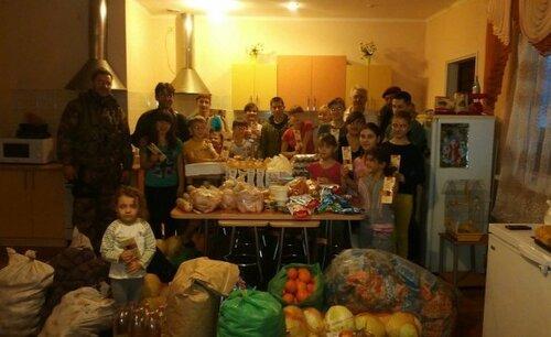 Сербы опять помогли жителям Донбасса