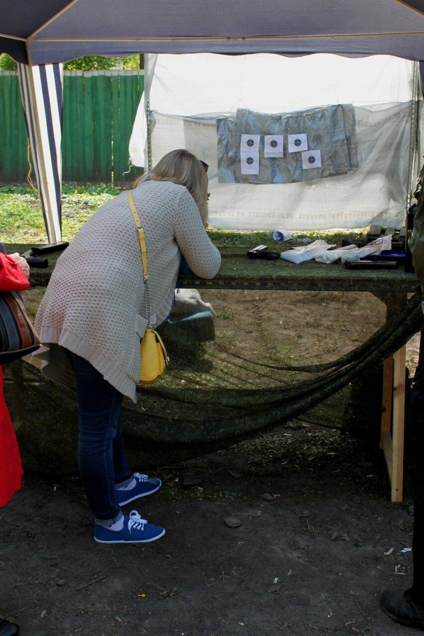 Тир в Мариинском парке