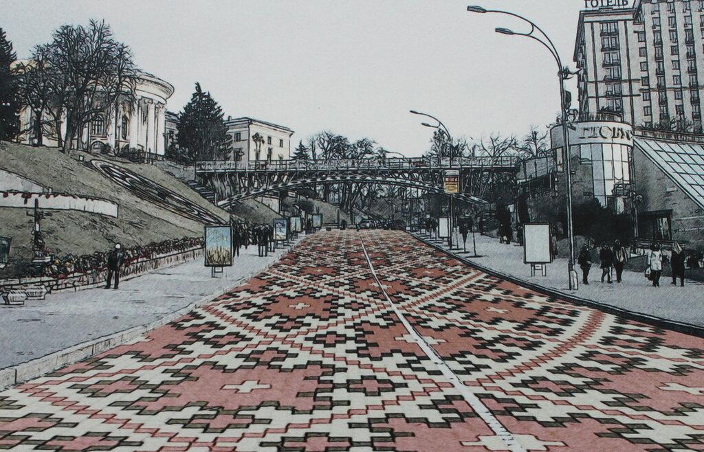 Проект реконструкции улицы Институтской