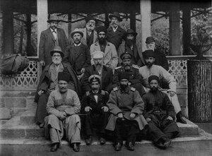 Личный состав Дербентского городского общественного управления. 1903