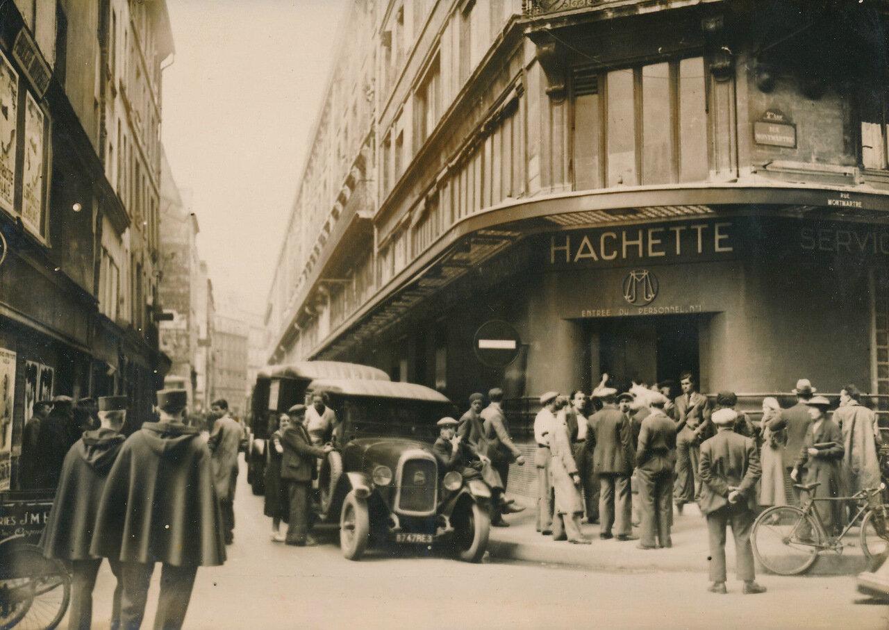 1936. Забастовка работников издательства «Ашетт» на Рю Монмартр