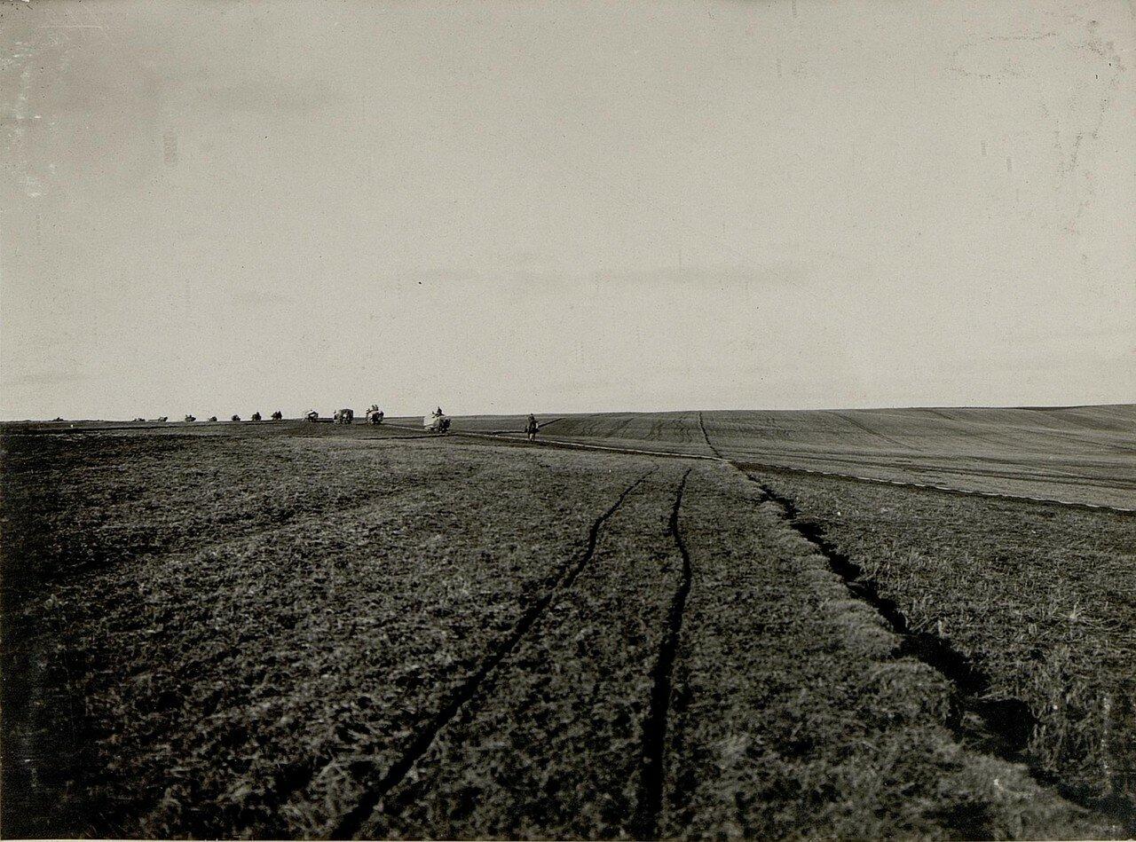 Острожец. Перевозка грузов по узкоколейке, 28.I. 1916