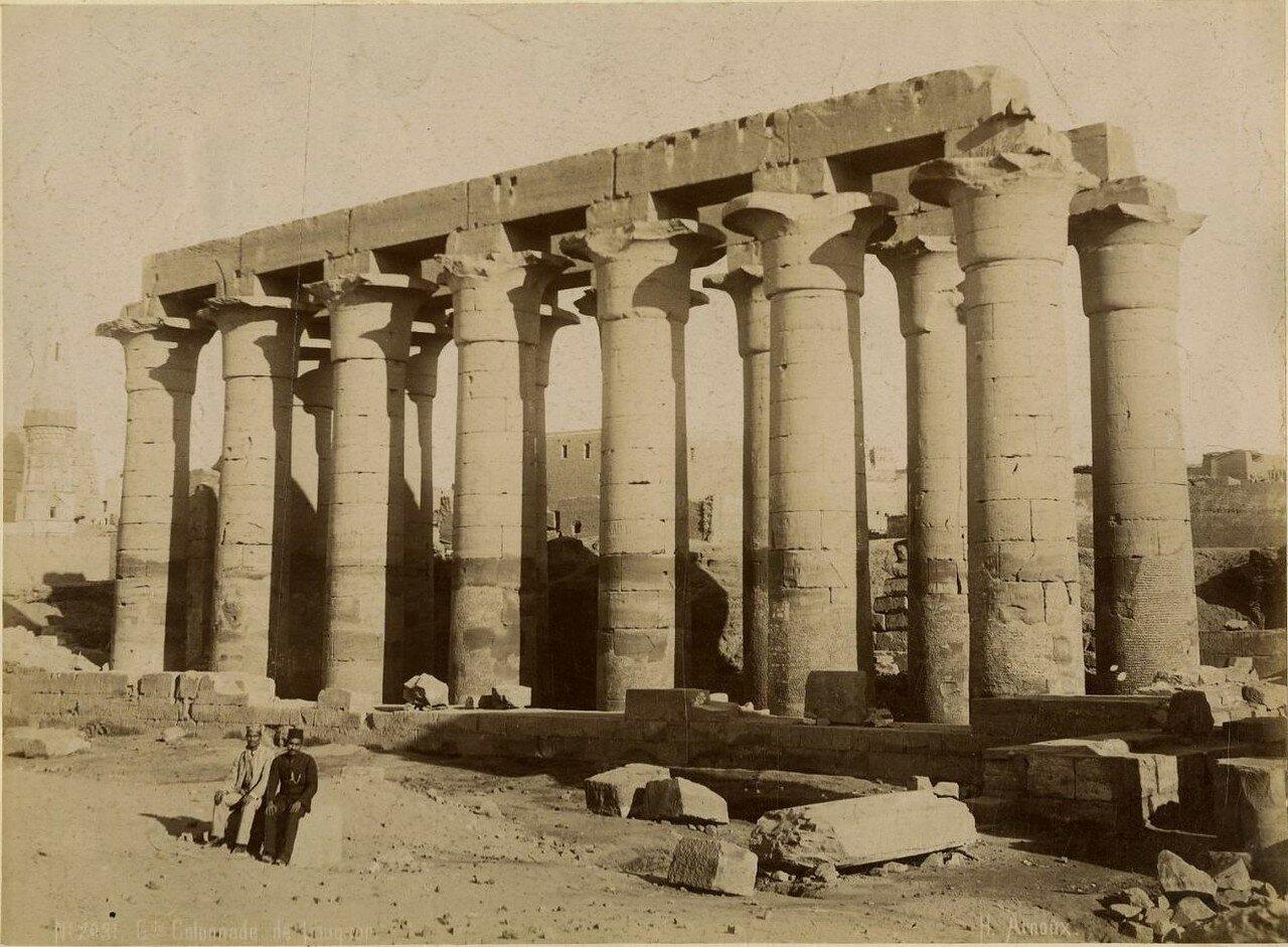 Луксорский храм. Колоннада