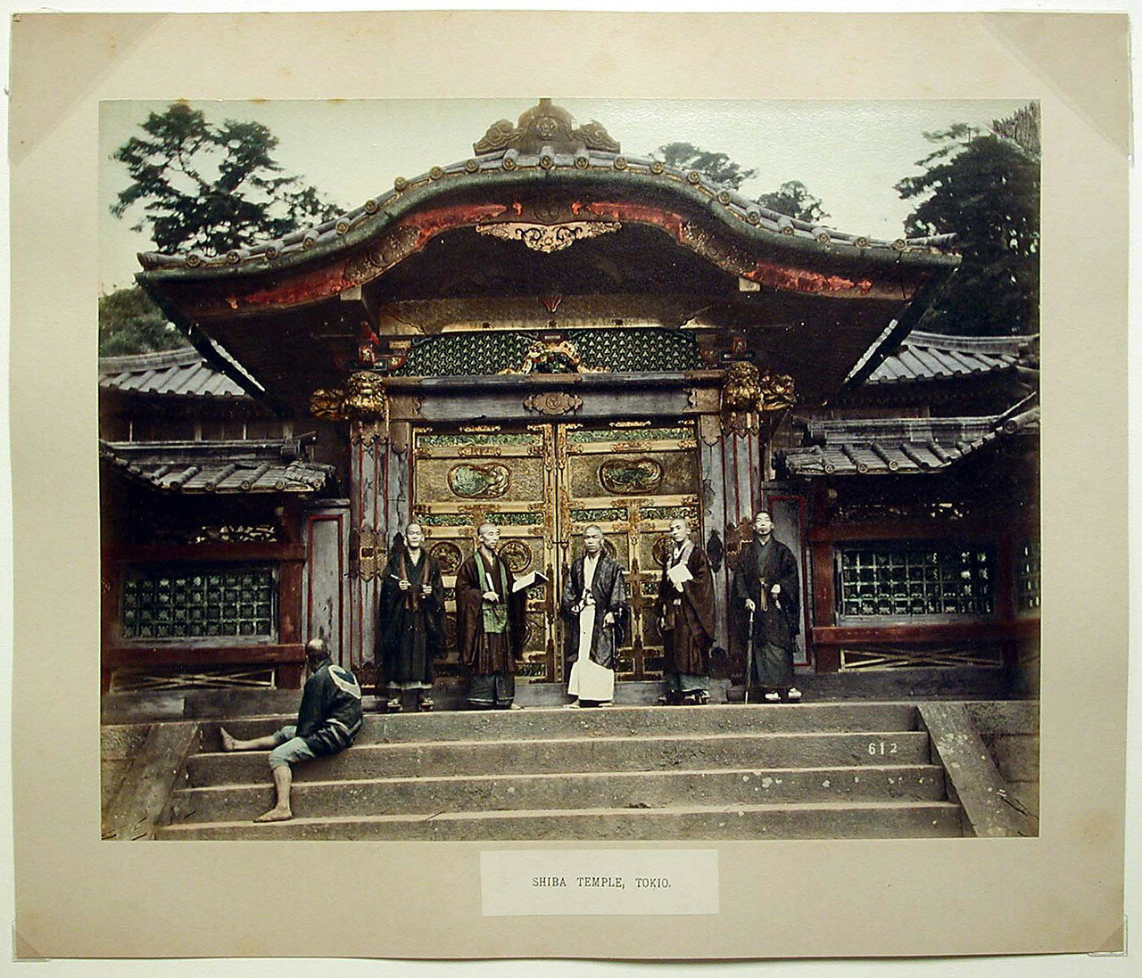 Токио. Зодзё-дзи, Ворота храма