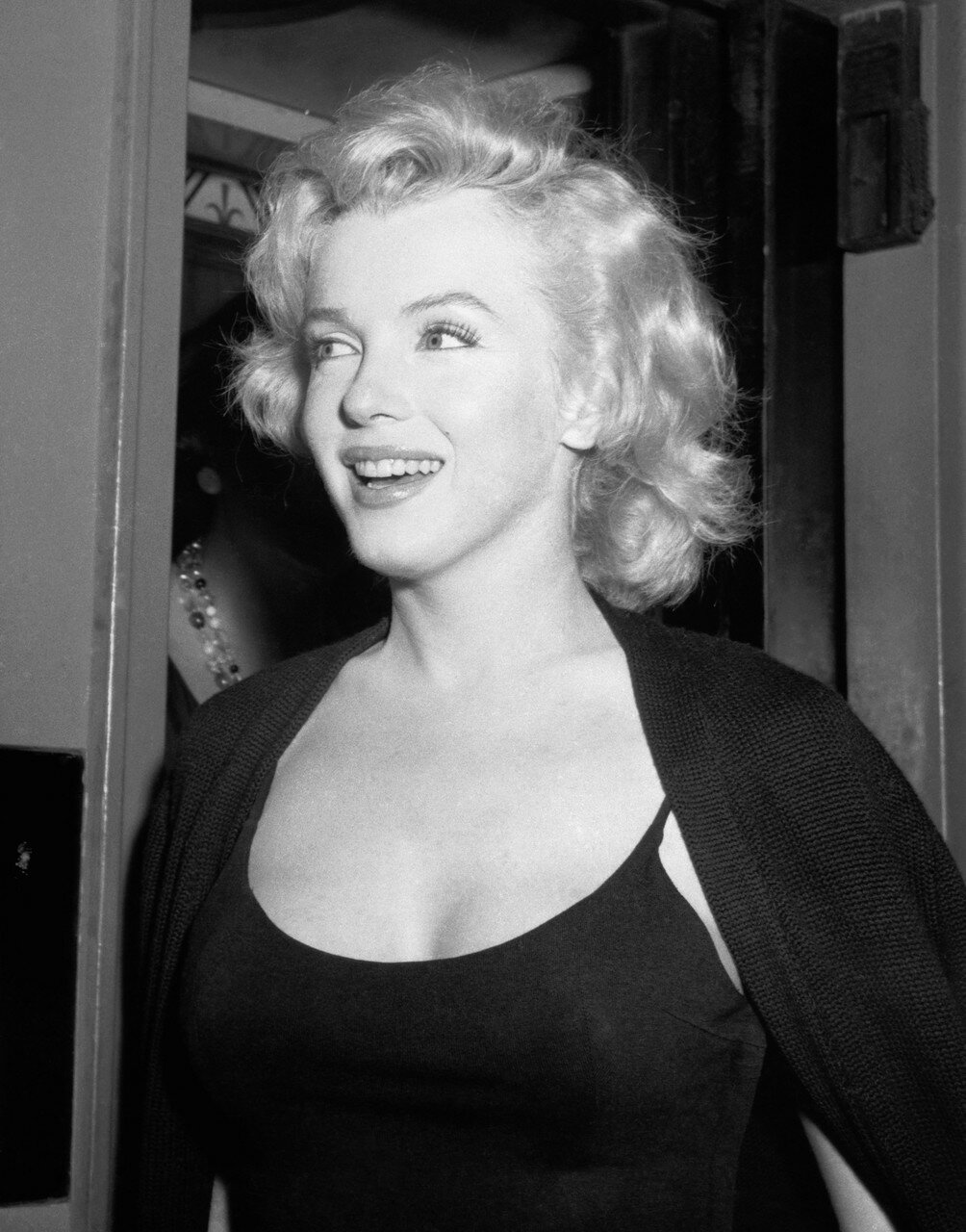 Marilyn Monroe During Press Conference