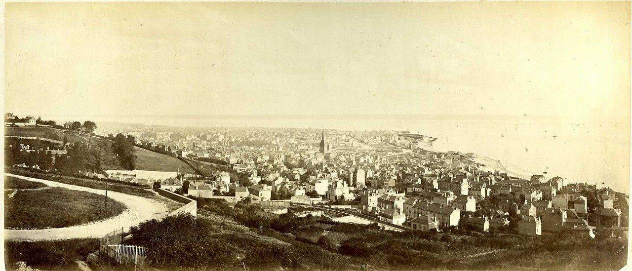 1870-е. Гавр. Панорама Сент-Адресс