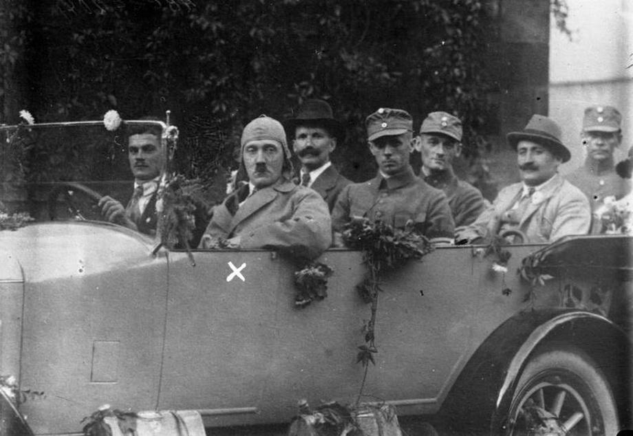 В ходе предвыборной кампании 1923 года.