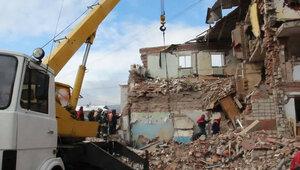 Взрыв в Хабаровске - разрушен жилой дом, есть жертвы