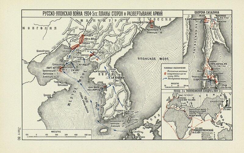 Русско-японская война 1904-1905 годов планы сторон и развертывание армий