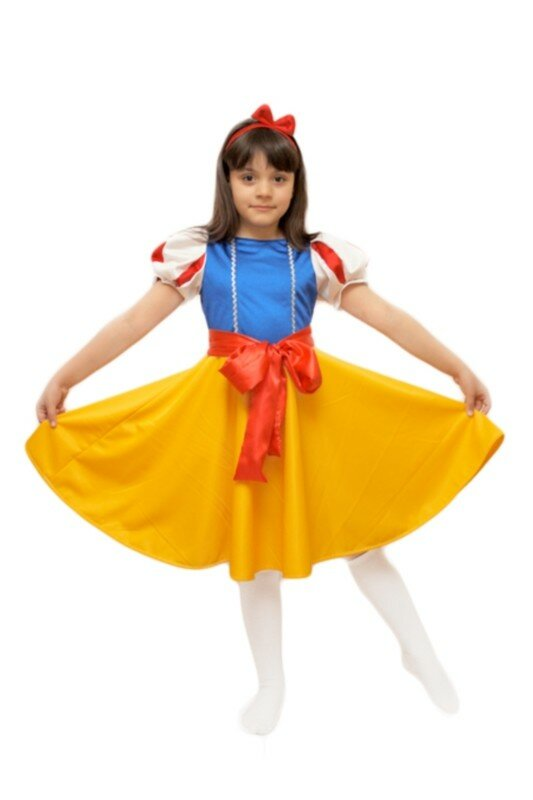 Красивый детский костюм на новый год