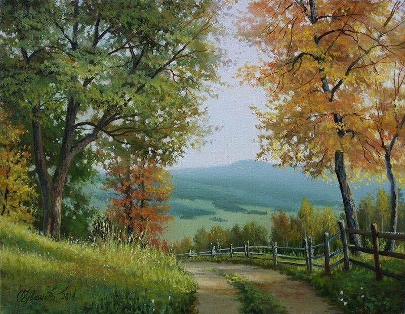 Белорусский художник Олег Чувашев. Нежные пейзажи и натюрморты 0 1110ce 2753994 XL