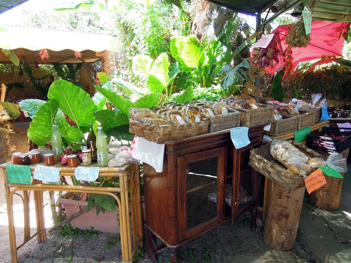 Овощной рынок в Капо-Ватикано