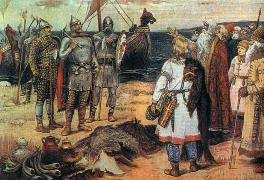 Версии происхождения слова «Русь»
