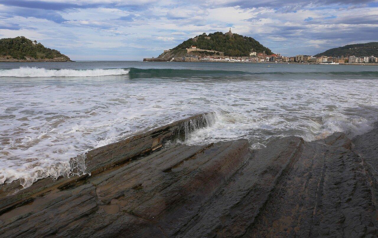 Donostia-San Sebastian. The beach of La Concha (Playa de la Concha)