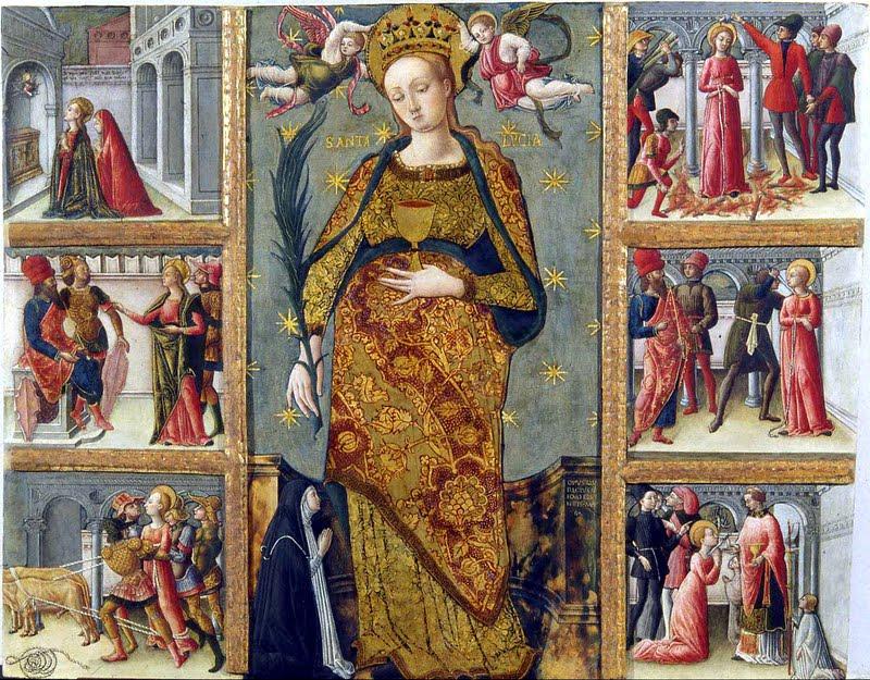 Santa Lucia - Quirizio da Murano.
