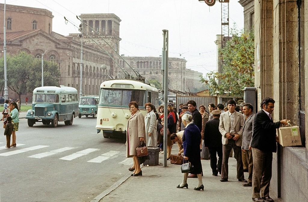 Проспект Революции в Воронеже, 1975: