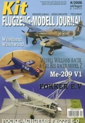 Журнал Kit Flugzeug-Modell Journal №4 2006