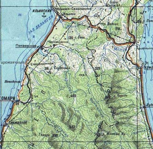 Пензенское Географическая карта.jpg
