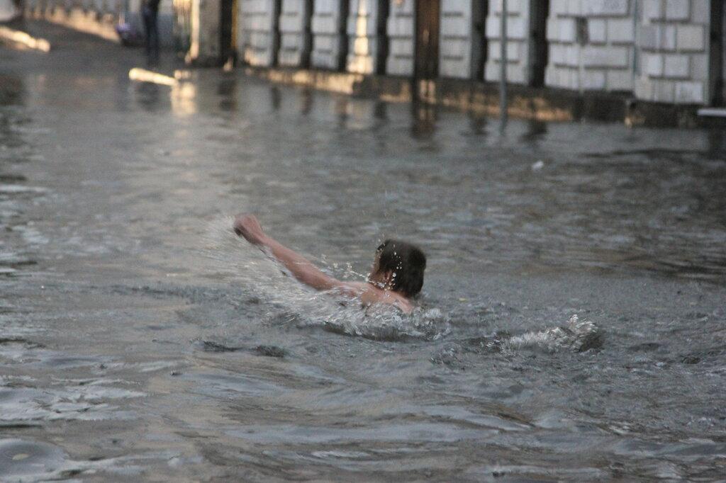 Хохловский пруд и река Рачка. 20.06.2015
