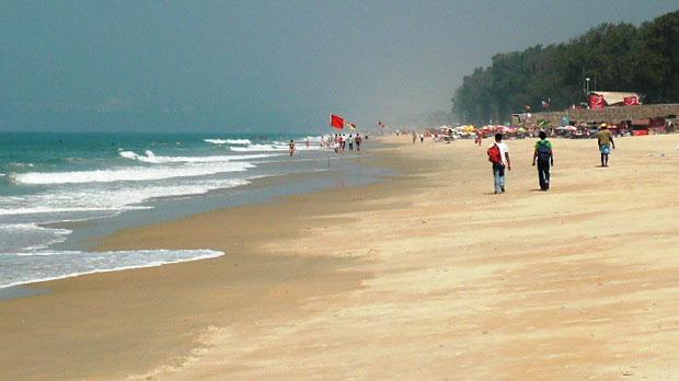 Фото 10. Отдых на пляже в Индии.