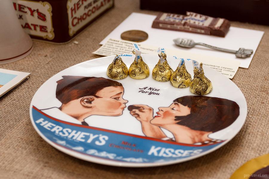 Шоколад в США