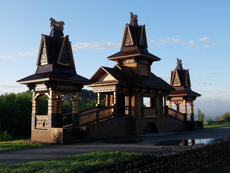Мариинск - Деревянная красота