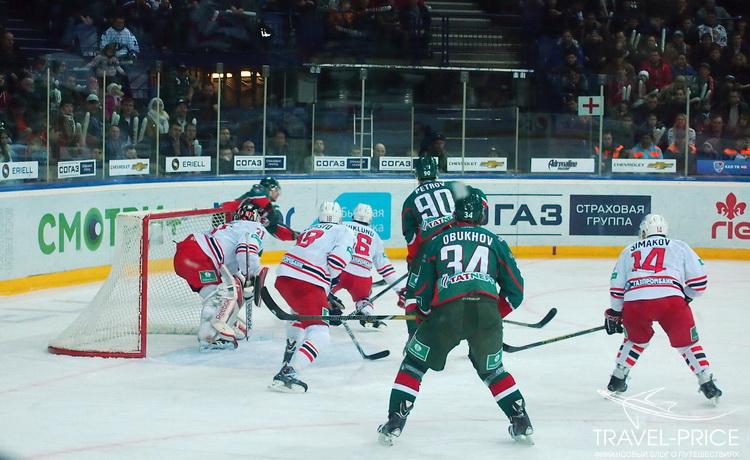 Хоккей в Татнефть-Арене Казань