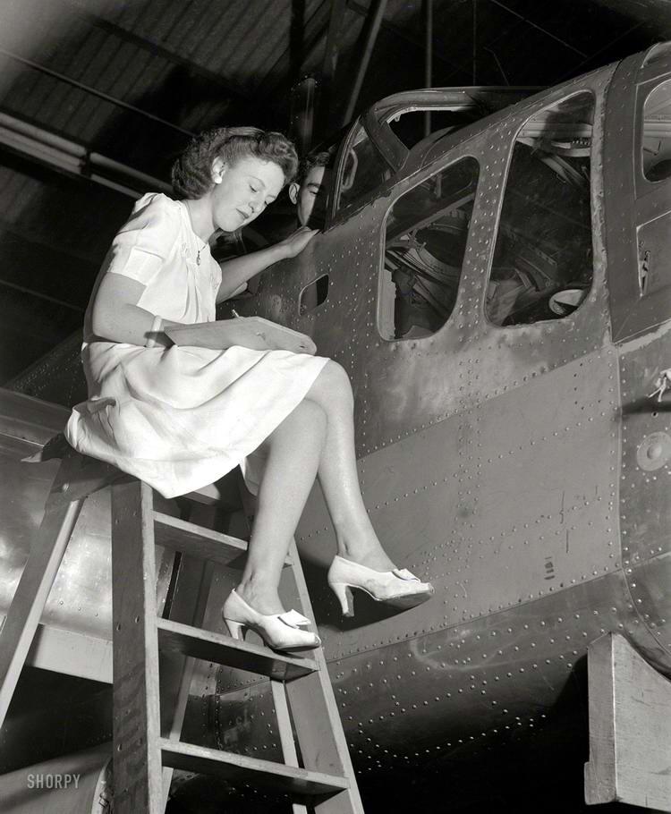 Самолеты и пилоты начала 20-го века на снимках американских фотографов (51)