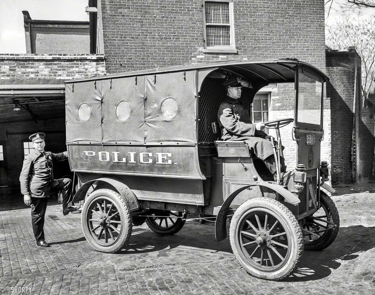 Специализированные транспортные средства начала 20-го века на снимках американских фотографов (22)