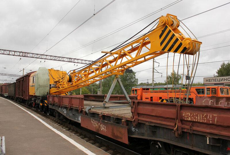 КЖ562-268 на станции Непецино