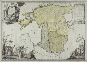 1562-1791. Ливония  после разделения  и во времена епископов