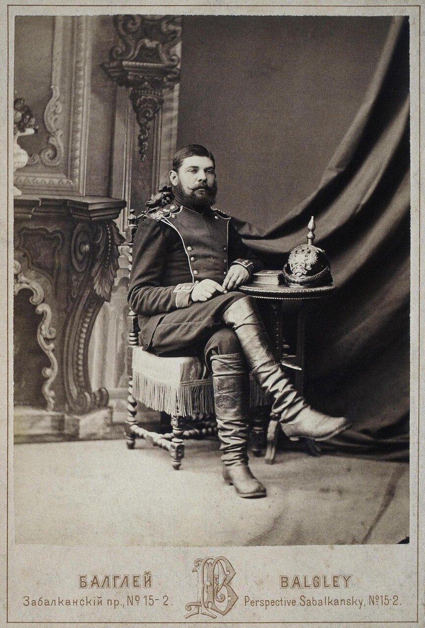 Портрет рядового Кондратия Дементьева
