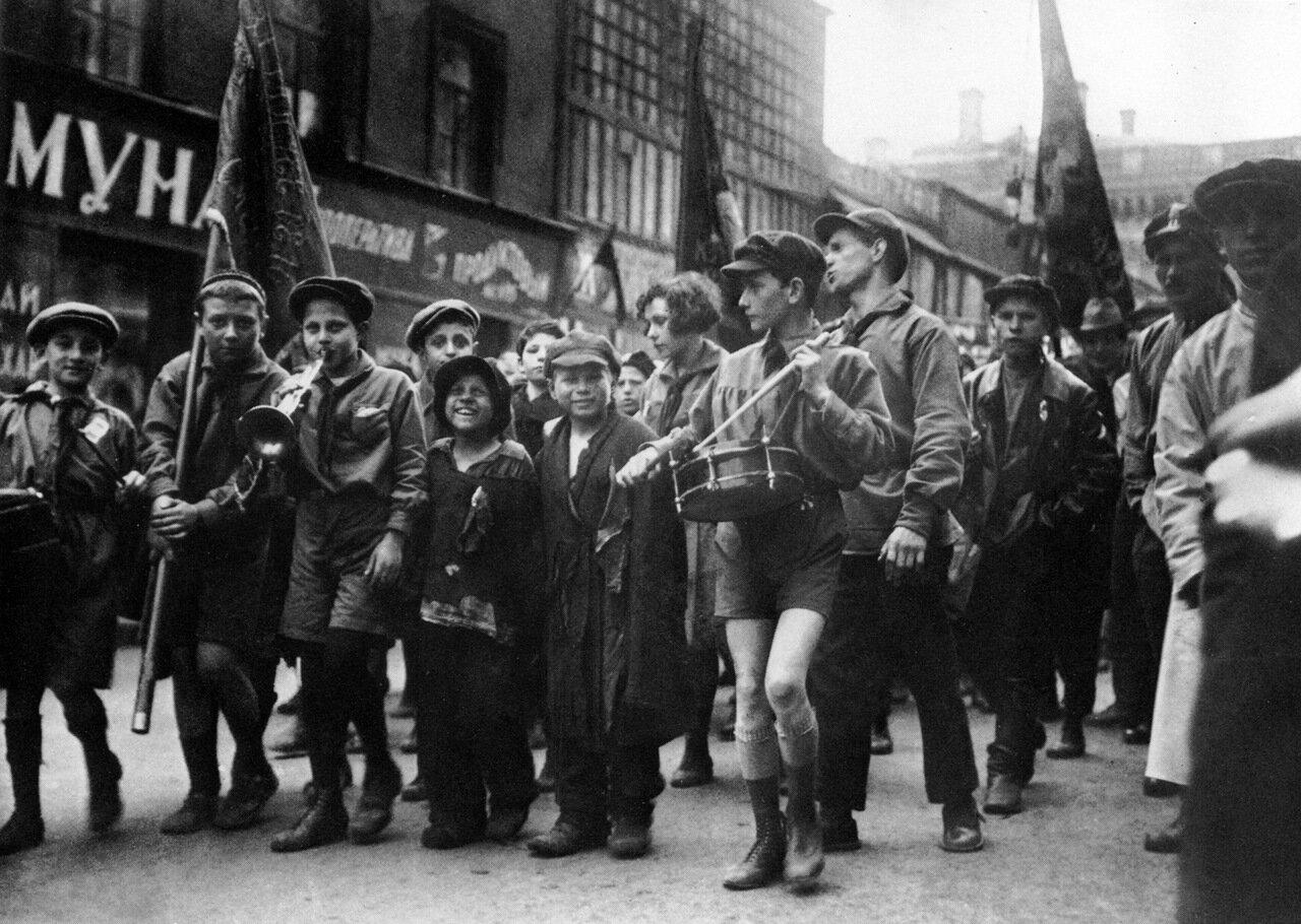 1929. Первомай. Москва