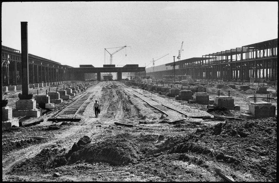 1972. Набережные Челны. Камаз. Завод на стадии строительства