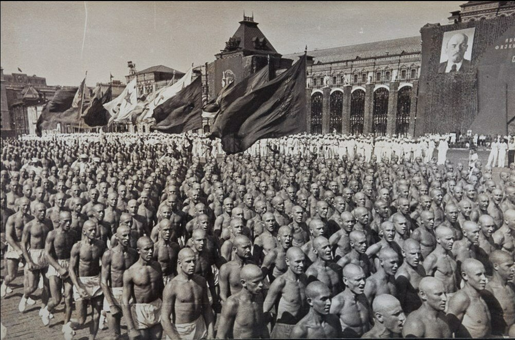 1935. Спортивный парад на Красной площади