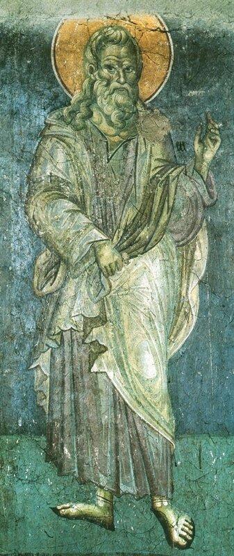 Иаред. Мануил Панселин. Фреска церкви Успения Богородицы в Протате. Афон. Начало XIV в..jpg