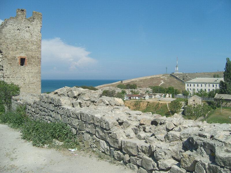 остатки крепости Кафа