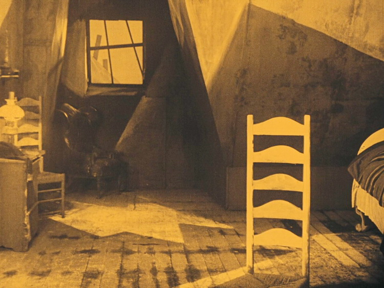 an analysis of the film the cabinet of dr caligari by robert wiene