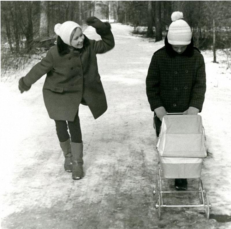 На прогулке. Вильнюс. 1973.jpg