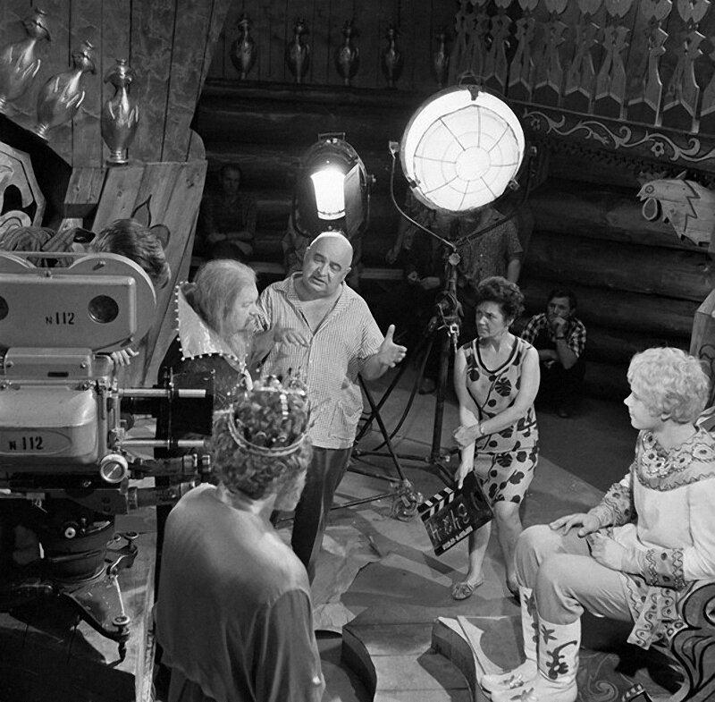 На съемках фильма «Варвара Краса Длинная  коса», 1969 год.jpg
