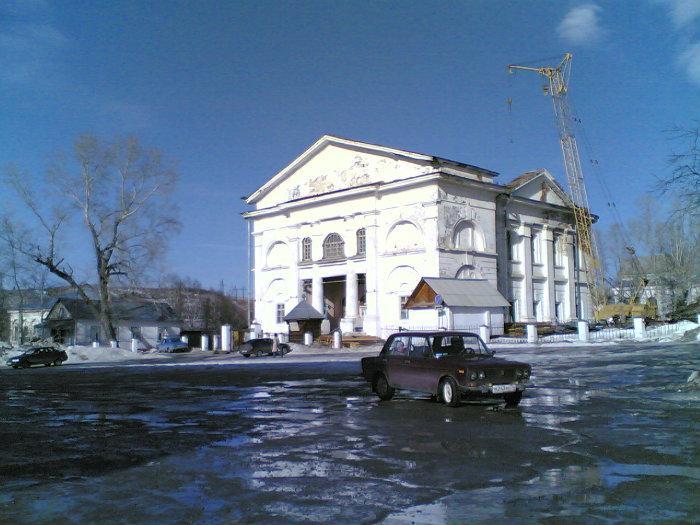 Таким здание Казанско-Предтеченского храма вошло вXXI век (19.11.2014)