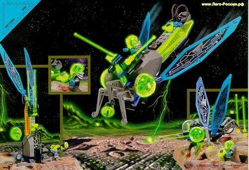 Космические модели из Лего