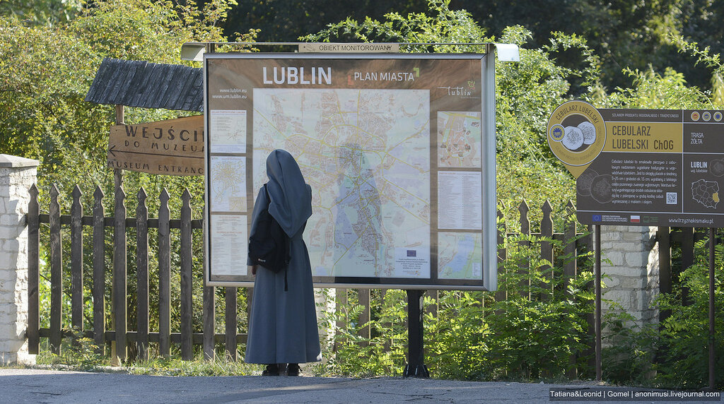 Импортные люди. Люблин. Польша.
