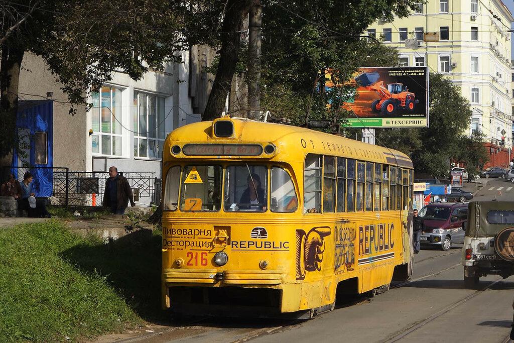 РВЗ-6 №216, Владивосток, 2007