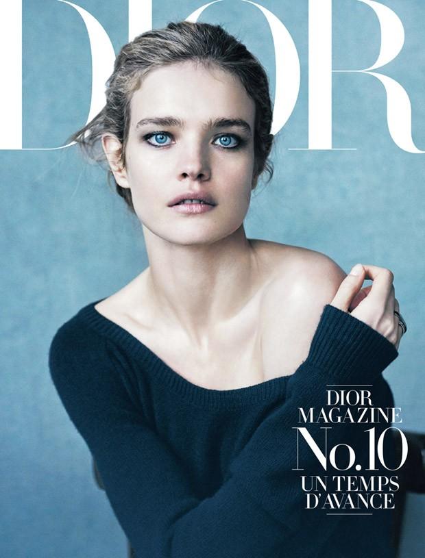 Наталья Водянова (Natalia Vodianova) в журнале Dior Magazine (10 фото)