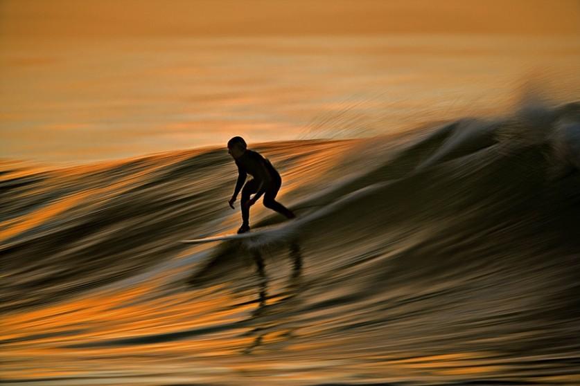Серфинг на жидкой меди. Автор фото: Дэвид Ориас