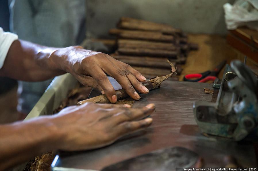 5. Заготовки сигар могут незначительно отличаться по длине и плотности, но это не страшно.