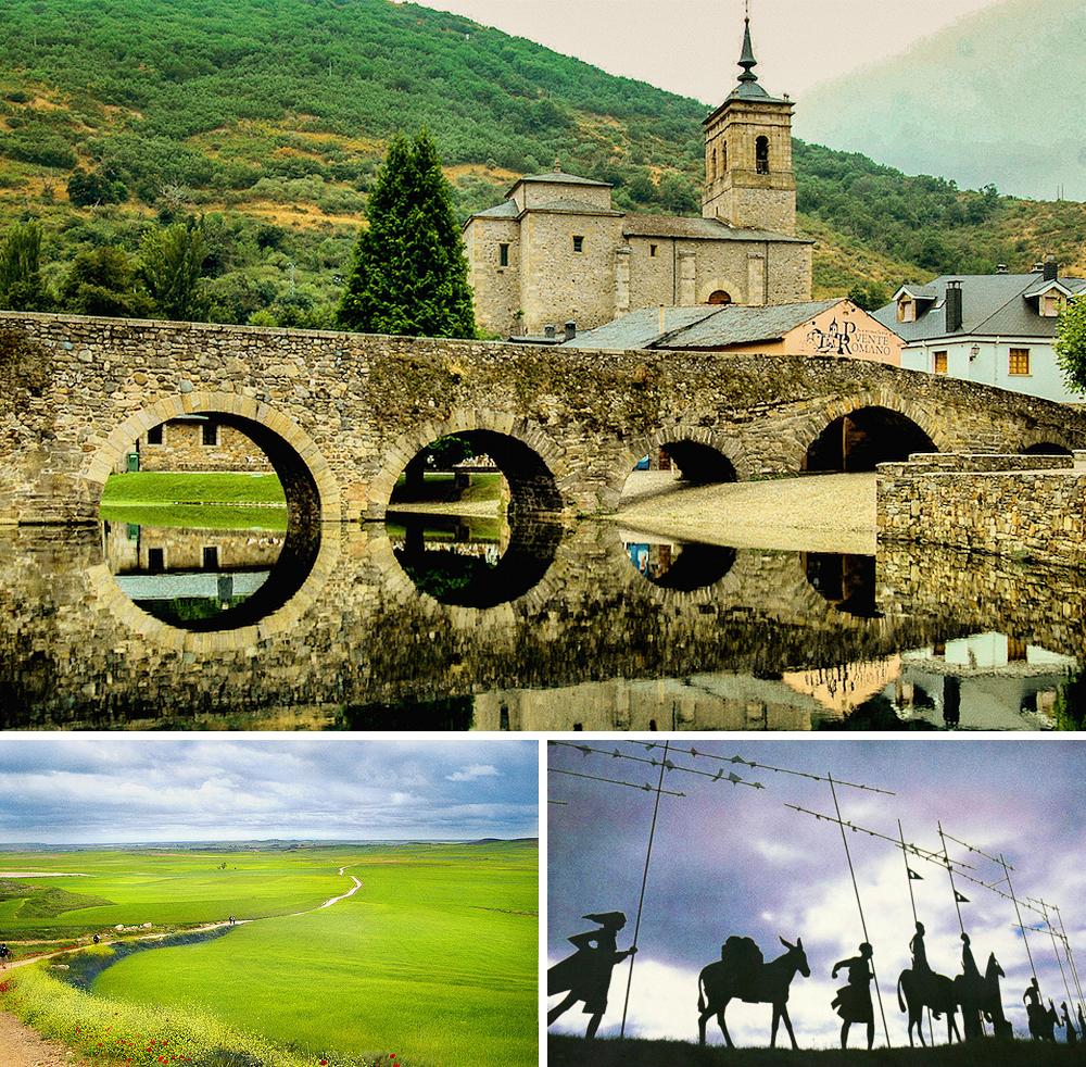 Поэтой дороге всредние века шли паломники, чтобы поклониться могиле покровителя Испании— апостола
